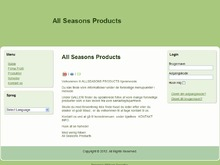 ALL SEASONS PRODUCTS ApS